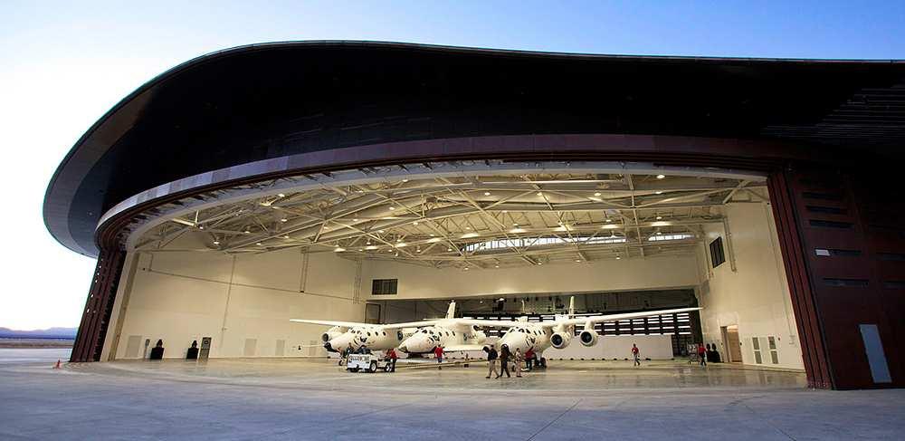 Lo Spaceport America.