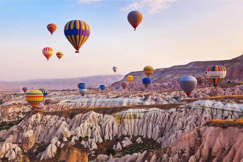 Immagine di mongolfiere in Cappadocia