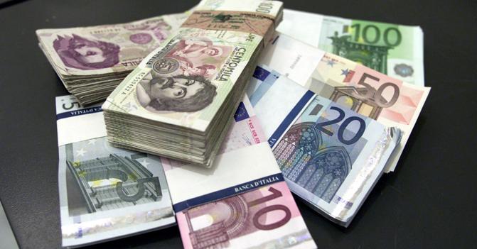 aree valutarie euro lira